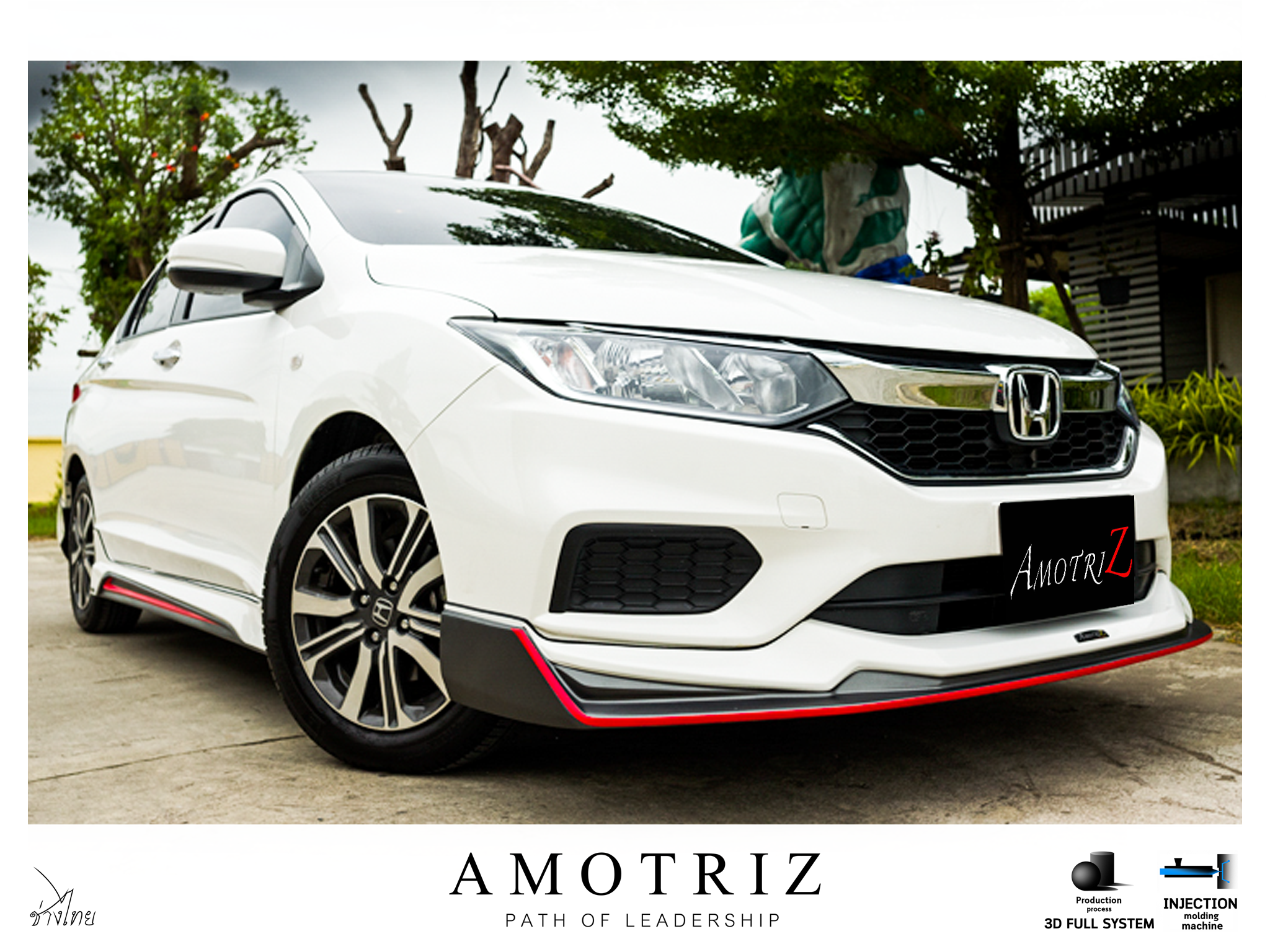 Honda City 2017 Body Kits By Amotriz ช ดแต ง Honda City 2020 Inspired By Lnwshop Com