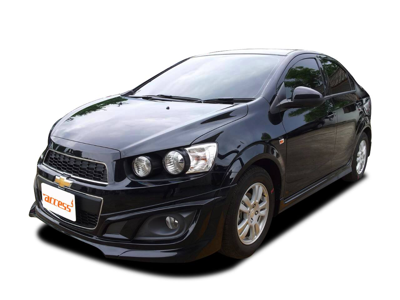 Chevrolet Sonic sedan and hatchback 2014 bodykits by Access - cross Toyota cross : Inspired by LnwShop.com
